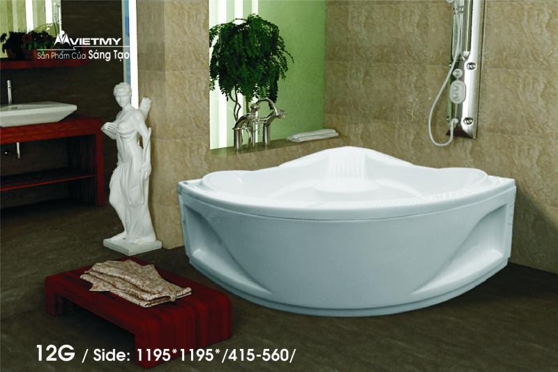 Bồn tắm góc Việt Mỹ Model 12G