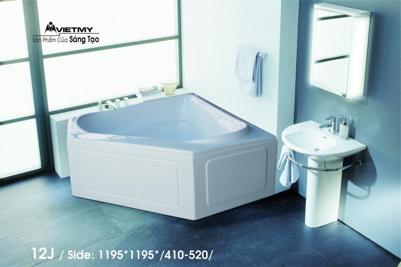 Bồn tắm góc Việt Mỹ Model 12J