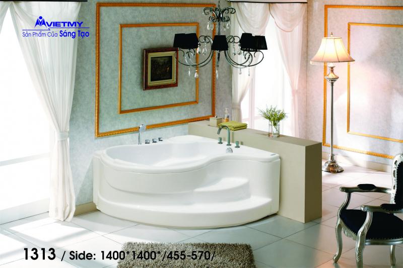 Bồn tắm góc Việt Mỹ Model 1313