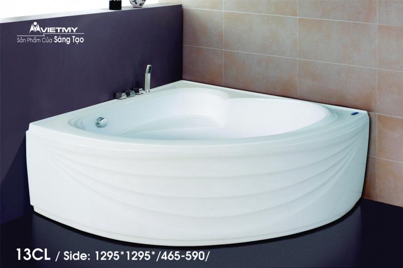 Bồn tắm góc Việt Mỹ Model 13CL