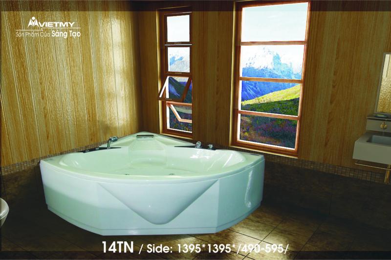 Bồn tắm góc Việt Mỹ Model 14TN