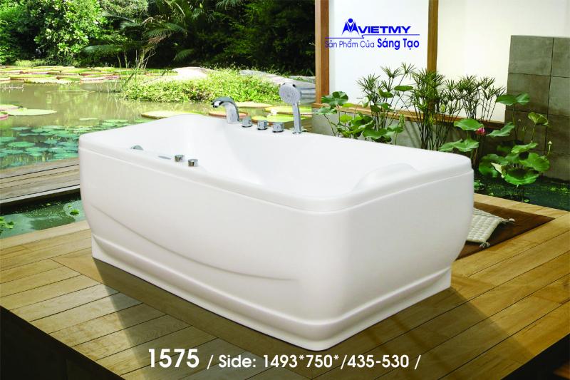 Bồn tắm dài Việt Mỹ Model 1575