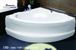 Bồn tắm góc Việt Mỹ Model 12Q
