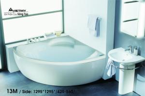 Bồn tắm góc Việt Mỹ Model 13M
