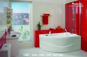 Bồn tắm góc Việt Mỹ Model 14D