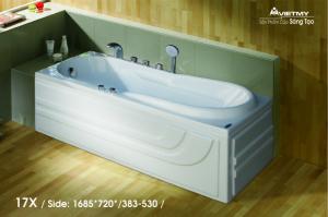 Bồn tắm dài Việt Mỹ Model 17X