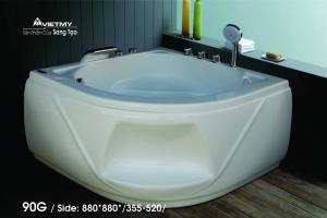 Bồn tắm góc Việt Mỹ Model 90G