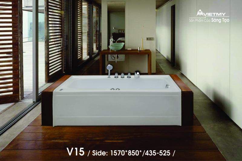 Bồn tắm dài Việt Mỹ Model V15