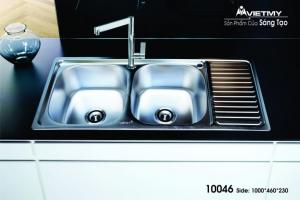 Chậu rửa INOX Việt Mỹ Model 10046