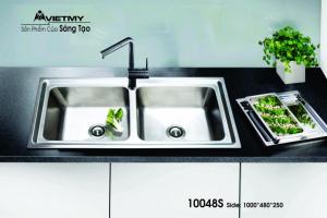 Chậu rửa INOX Việt Mỹ Model 10048S