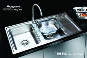 Chậu rửa INOX Việt Mỹ Model 11051VD