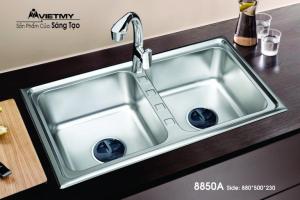 Chậu rửa INOX Việt Mỹ Model 8850A