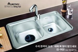 Chậu rửa INOX Việt Mỹ Model ID-900