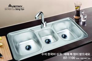 Chậu rửa INOX Việt Mỹ Model IST-1100