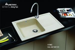 Chậu rửa đá nhân tạo mã V Việt Mỹ Model V1NC