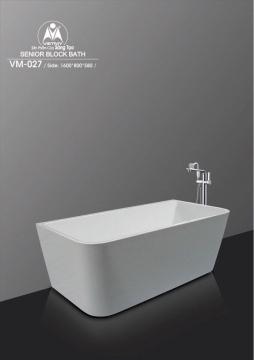Bồn tắm dài Việt Mỹ Model VM-027
