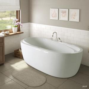 Bồn tắm Oval Việt Mỹ Model 18-O