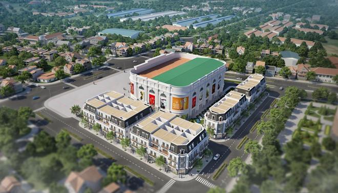 Ra mắt tổ hợp nhà phố thương mại Vincom shophouse Dĩ An
